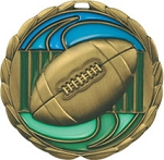 Epoxy Medallions Football