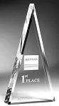 Pyre Triangle Executive Acrylic Award Medium