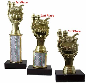 Chili Cook Off Trophy Set