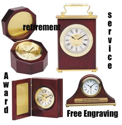 Personalized Award Clock