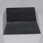 Black Marble Beveled Base 6-1/4