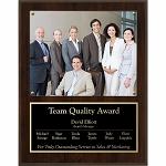 Picture Plaque Walnut Finish 15