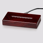 Rosewood Piano Finish Lighted Rectangle Base 6-1/2