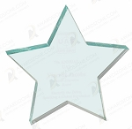 JADE ACRYLIC STAR PAPERWEIGHT