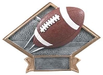 6X8.5 FOOTBALL DIAMOND PLATE-Large