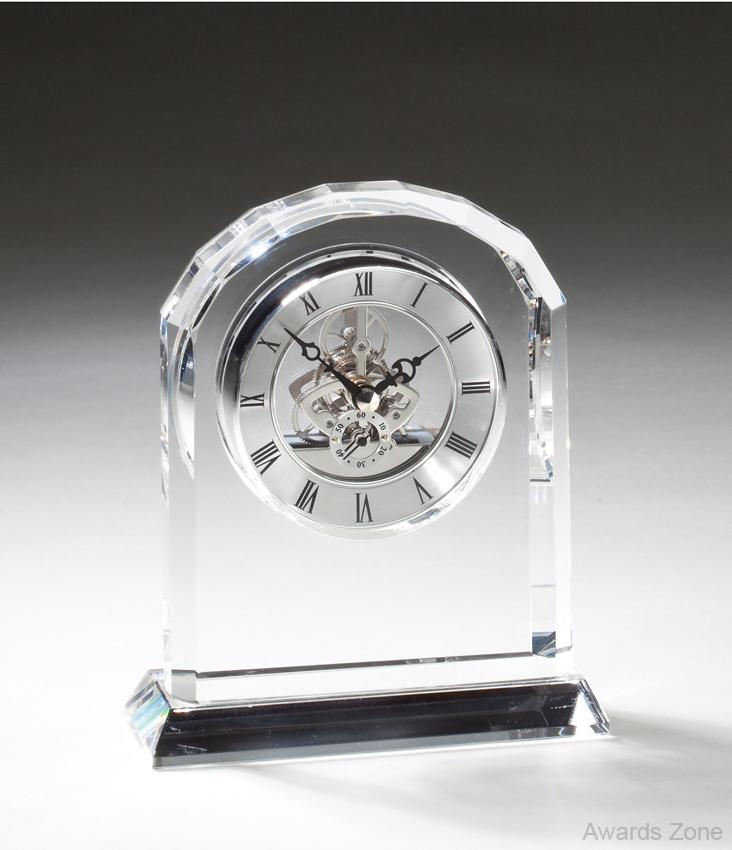 Crystal Clock 6 1/4\