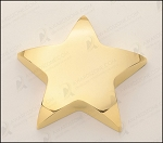 Star Paper Weight with Felt Bottom. 4