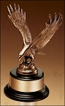 Fully Modeled Antique Bronze Eagle Casting 9