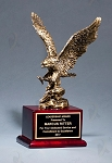 Antique Bronze Finished Eagle Trophy