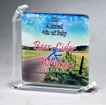 Sublimated Glass Awards 5 -7/8
