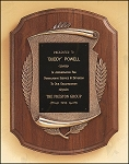 American Walnut Plaque with Antique Bronze Frame 11