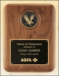 American Walnut Plaque with Eagle Medallion 8