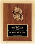 Fireman Award with Antique Bronze Finish Casting. 7