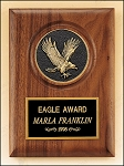American Walnut Plaque with Eagle Casting 5