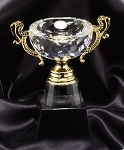 Optical Crystal Golf Trophy Cup Small