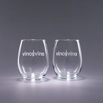 17oz. Trendsetter Stemless White - Traveler