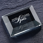 Capital Optic Crystal Paperweight