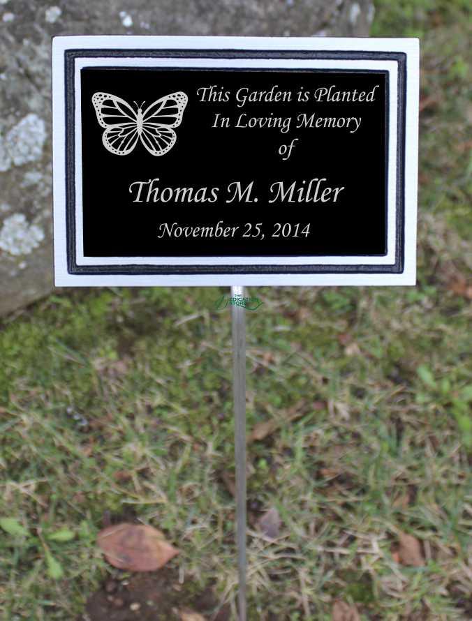 Outdoor Garden Dedication Plaques