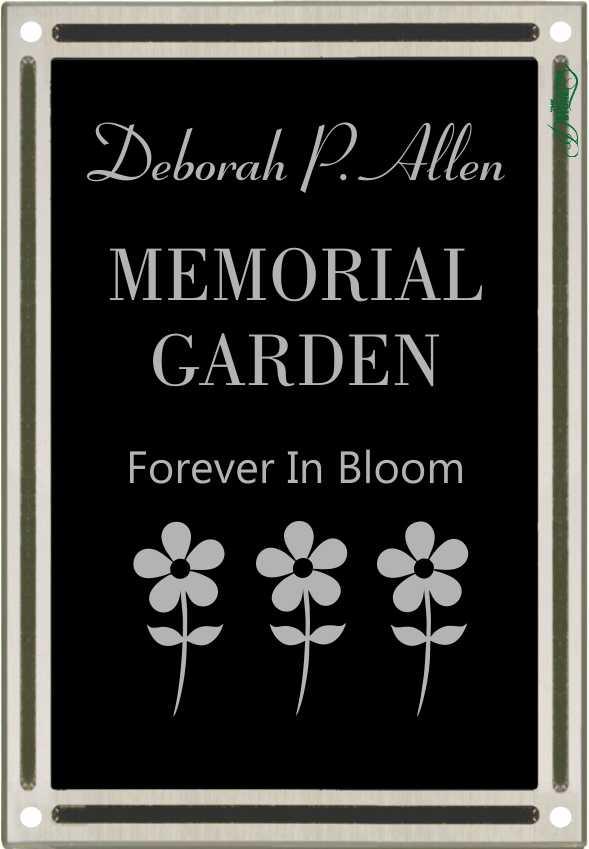 memorial garden plaques - Garden Plaques
