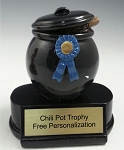 Chili  Pot Cook-Off Trophy