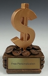 Dollar Sign Trophy