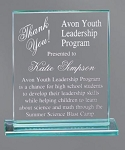 Corporate Glass Award Rectangle