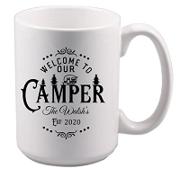 Personalized Mug for the Camper