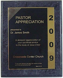 Pastor Appreciation Plaque is a great way to honor your ...