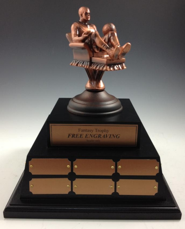 Perpetual Fantasy Basketball Trophy-XL