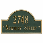 Arch Marker Address Plaque - 15.75