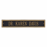 Arch Extension Address Plaque 23.75