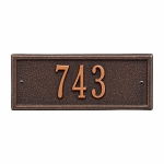 Oil Rubbed Bronze Hartford Petite Wall One Line