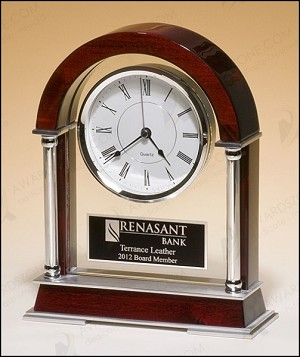 "High Gloss Clock 8-1/2"" Wide X 10-1/2""  Tall"