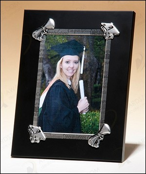 Congratulations Picture Frame for Graduation 6-1/8