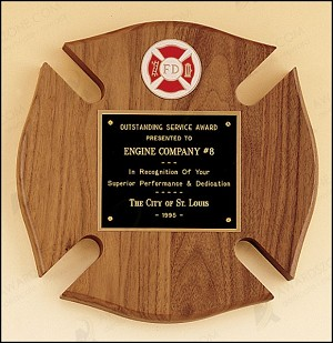 Maltese Cross Fireman Award 10
