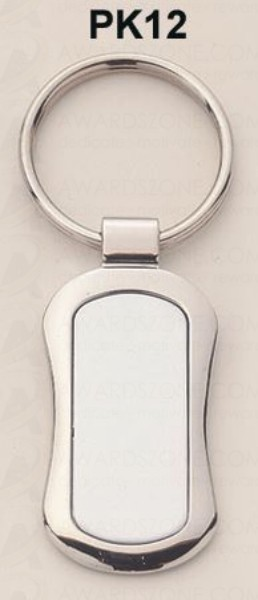 "Silver Plated Keying 1"" Wide X 3-1/4"" Tall"