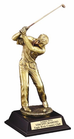 "10""Tall Golf Driver Male"