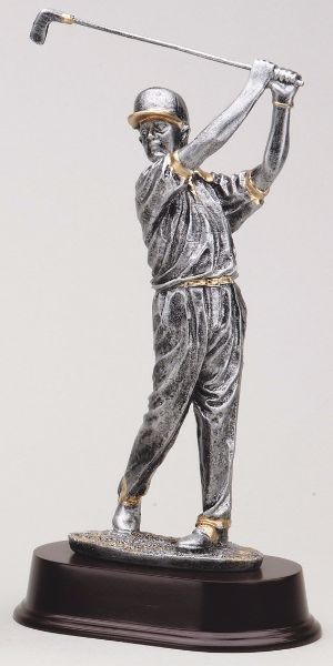 "10""Tall Golfer With Cap"