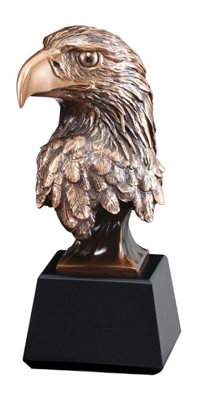 "9""Tall Eagle Bust"