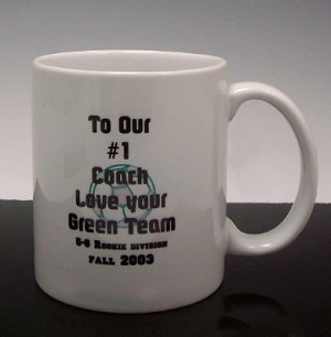 Coach Coffee Mug 11 oz