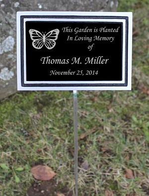 Outdoor Aluminum Dedication 6x8 Plaque
