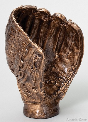 Baseball Glove Resin Sculpture 8