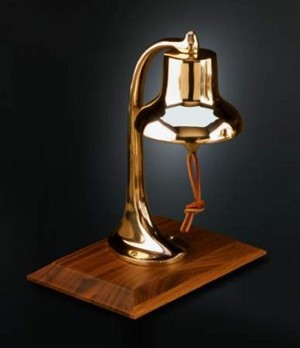 Captain's American Made Desk Bell