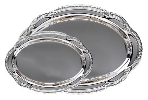 Engravable Silver Plated Trays