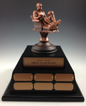 Perpetual  Fantasy Basketball Trophy-XL